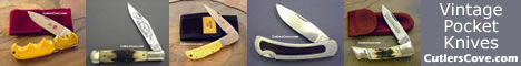 Click Here For Cutlers Cove Vintage Knives