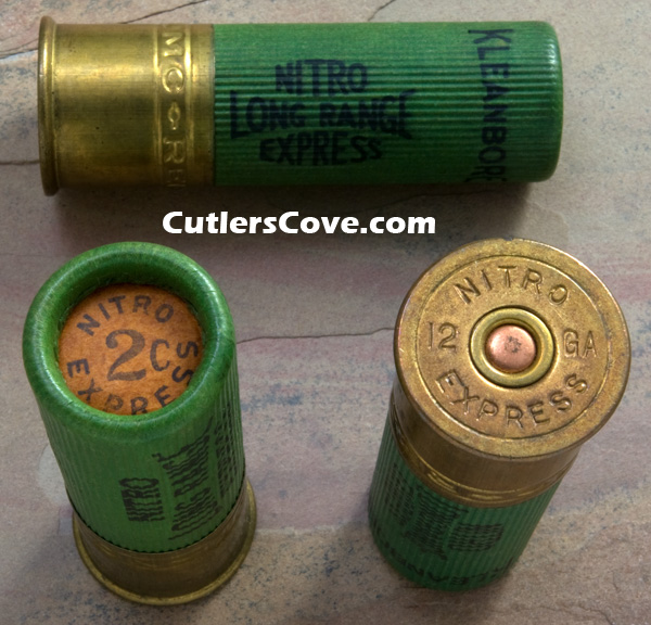 paper shotgun shells · an old friend gave me a bag full of paper shotgun shells that he'd been holding on to for a while some of them are in remarkable condition.
